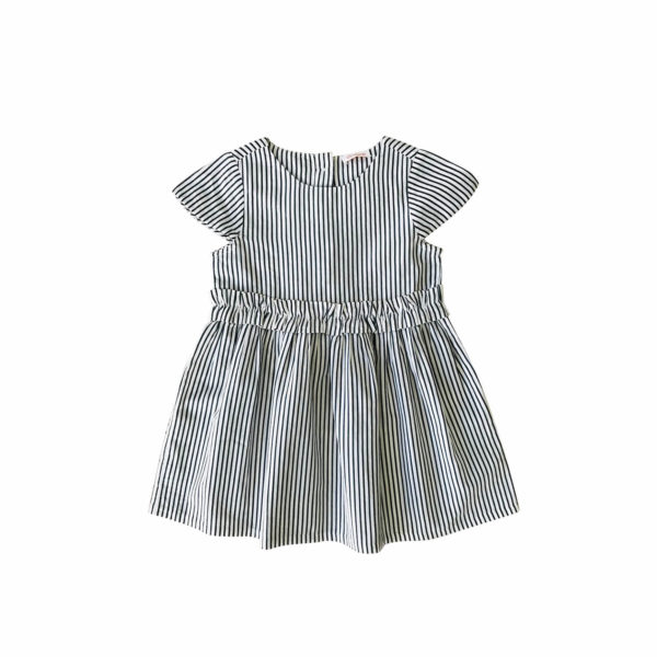 Elodiee Abbey dress stripes blue/white